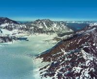 eklutna lake glacier water