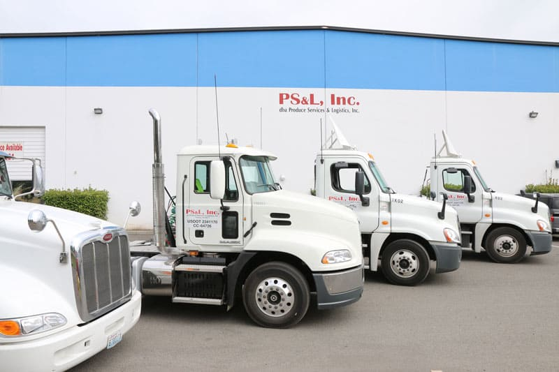 warehouse trucks produce services tacoma